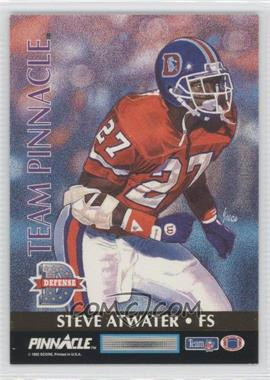 1992 Pinnacle Team Pinnacle #4 - Eric Green, Steve Atwater
