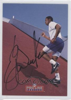 1992 Pro Line Profiles Autographs #ERDI.7 - Eric Dickerson