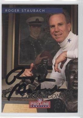 1992 Pro Line Profiles Autographs #ROST - Roger Staubach