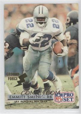 1992 Pro Set - [Base] - Ground Force #150 - Emmitt Smith
