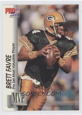 1992 Pro Set - Gold MVP's #MVP20 - Brett Favre