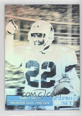 1992 Pro Set Emmitt Smith Holograms #ES1 - Emmitt Smith