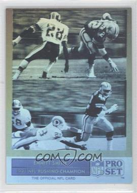 1992 Pro Set Emmitt Smith Holograms #ES4 - Emmitt Smith
