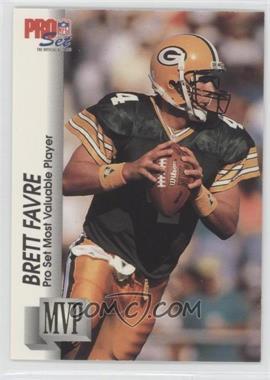 1992 Pro Set Gold MVP's #MVP20 - Brett Favre