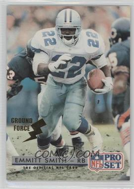1992 Pro Set Ground Force #150 - Emmitt Smith