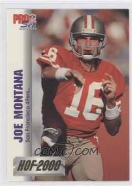 1992 Pro Set HOF 2000 #6 - Joe Montana