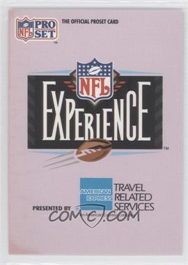 1992 Pro Set NFL Experience - [Base] #1 - The NFL Experience