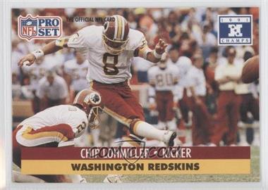 1992 Pro Set NFL Experience - [Base] #320 - Chip Lohmiller