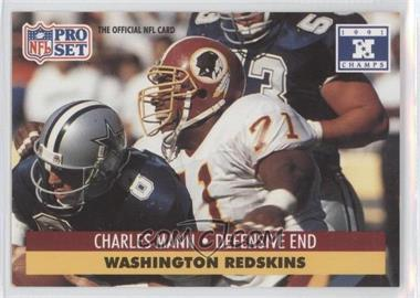 1992 Pro Set NFL Experience - [Base] #680 - Charles Mann