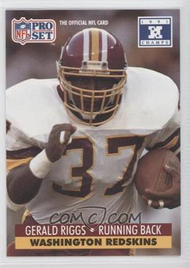 1992 Pro Set NFL Experience - [Base] #683 - Gerald Riggs