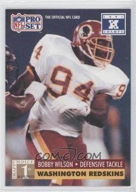 1992 Pro Set NFL Experience - [Base] #746 - Bobby Wilson