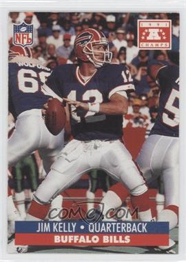 1992 Pro Set NFL Experience - [Base] #NoN - Jim Kelly