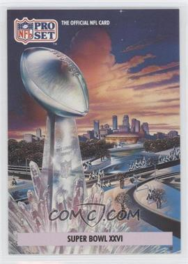1992 Pro Set NFL Experience [???] #2 - [Missing]