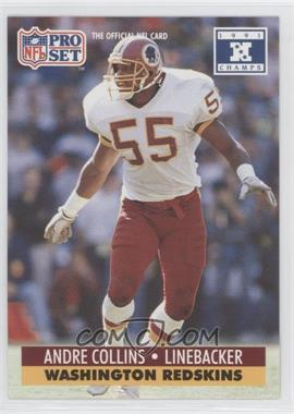 1992 Pro Set NFL Experience [???] #318 - Andre Collins