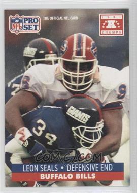 1992 Pro Set NFL Experience [???] #449 - Leon Seals