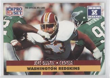 1992 Pro Set NFL Experience [???] #53 - Jeff Bostic