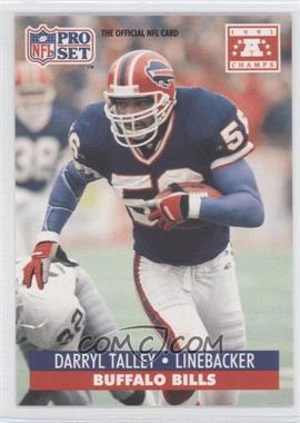 1992 Pro Set NFL Experience [???] #56 - Darryl Talley
