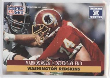 1992 Pro Set NFL Experience [???] #678 - Markus Koch
