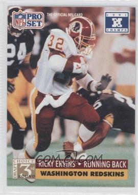 1992 Pro Set NFL Experience [???] #805 - Ricky Ervins