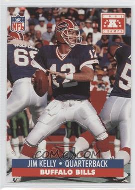 1992 Pro Set NFL Experience [???] #N/A - Jim Kelly