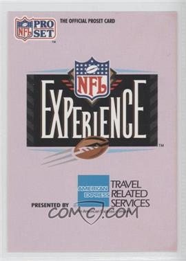 1992 Pro Set NFL Experience #1 - The NFL Experience