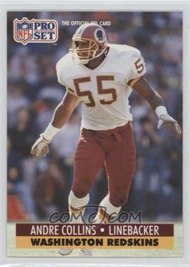1992 Pro Set NFL Experience #318 - Andre Collins