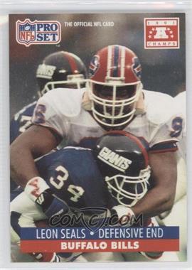 1992 Pro Set NFL Experience #449 - Leon Seals