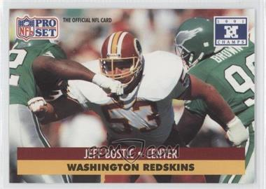 1992 Pro Set NFL Experience #53 - Jeff Bostic