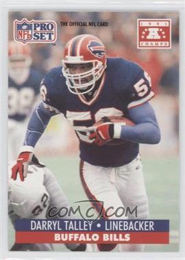 1992 Pro Set NFL Experience #56 - Darryl Talley