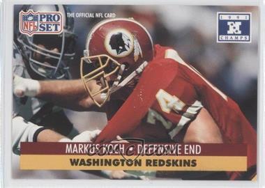 1992 Pro Set NFL Experience #678 - Markus Koch