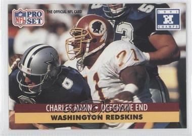 1992 Pro Set NFL Experience #680 - Charles Mann