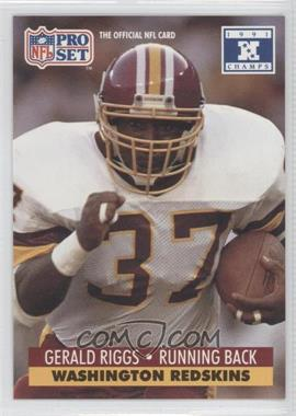 1992 Pro Set NFL Experience #683 - Gerald Riggs