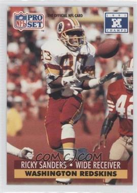 1992 Pro Set NFL Experience #684 - Ricky Sanders
