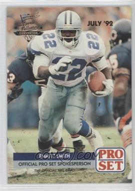 1992 Pro Set National Convention Promos #PRO002 - Emmitt Smith