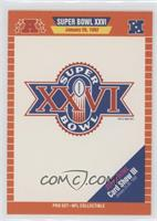 Super Bowl XXVI Logo (Super Bowl Card Show III)
