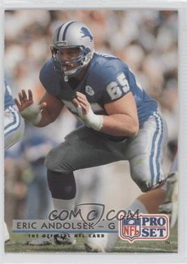 1992 Pro Set #163 - Eric Andolsek