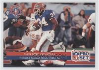 Super Bowl XXVI Replay - Thomas Scores Bills' First TD