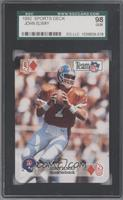 John Elway (Queen of Diamonds) [SGC 98]