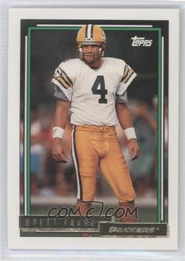 1992 Topps Gold #696 - Brett Favre