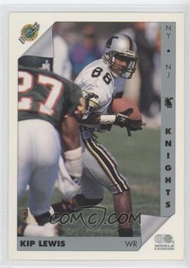 1992 Ultimate World League of American Football #101 - Kip Lewis