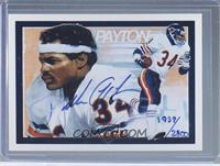 Walter Payton (Autographed) /2800