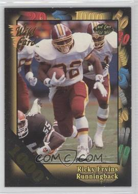 1992 Wild Card Super Bowl Card Show III - [Base] - 1000 Stripe #126 B - Ricky Ervins