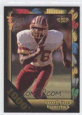 1992 Wild Card Super Bowl Card Show III - [Base] - 1000 Stripe #126 C - Darrell Green