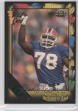 1992 Wild Card Super Bowl Card Show III 10 Stripe #126 G - Bruce Smith