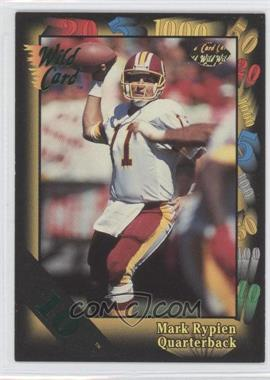 1992 Wild Card Super Bowl Card Show III 10 Stripe #126 - Mark Rypien