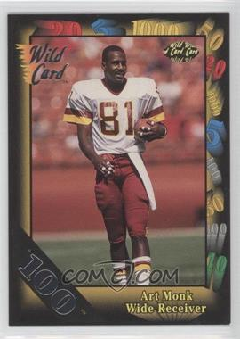 1992 Wild Card Super Bowl Card Show III 100 Stripe #126 E - Art Monk