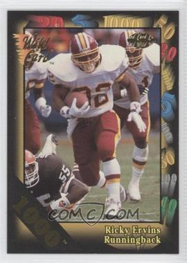 1992 Wild Card Super Bowl Card Show III 1000 Stripe #126 B - Ricky Ervins