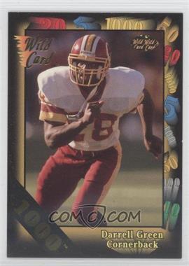 1992 Wild Card Super Bowl Card Show III 1000 Stripe #126 C - Darrell Green