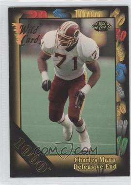 1992 Wild Card Super Bowl Card Show III 1000 Stripe #126 D - Charles Mann