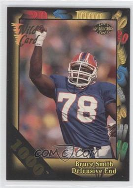 1992 Wild Card Super Bowl Card Show III 1000 Stripe #126 G - Bruce Smith